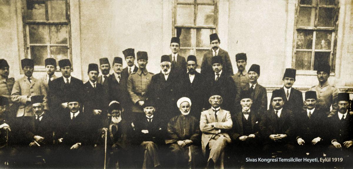 Eylül 1919, Mustafa Kemal ve Sivas Kongresi Temsilciler Heyeti-Sivas