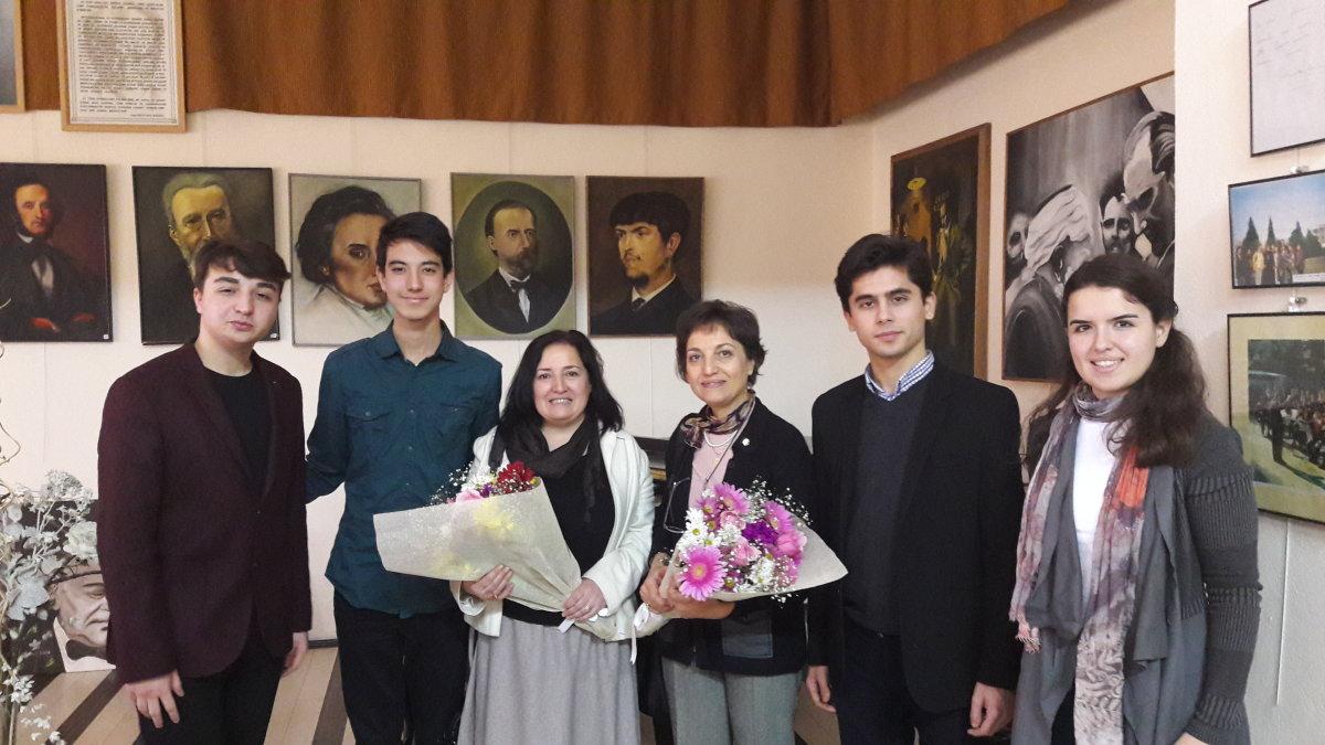 İnci Özdil'den Bursa Güzel Sanatlar Lisesi'ne Ziyaret