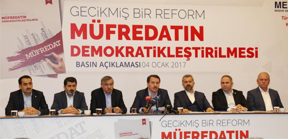 Eğitimden Kemalizm değil, siz temizlenin!