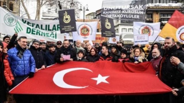 16 lise derneği, Ortaköy'de terörü protesto etti