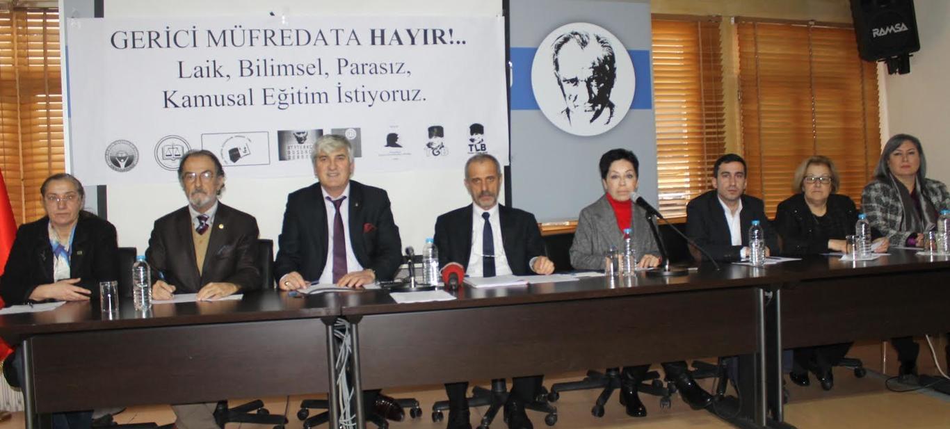 Kitle örgütlerinden Atatürksüz müfredat taslağına karşı ortak açıklama