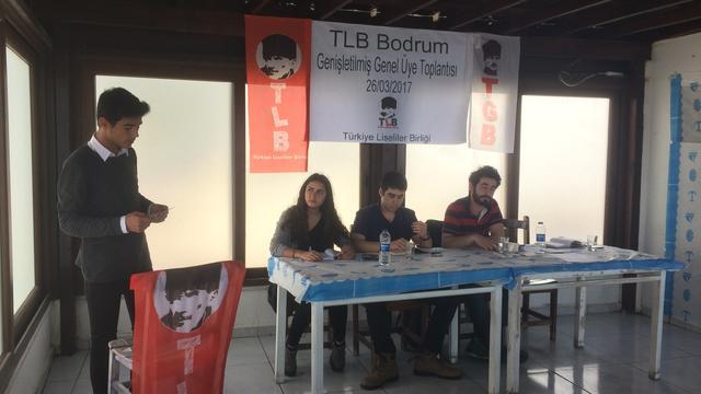 TLB Bodrum genel üye toplantısı yapıldı