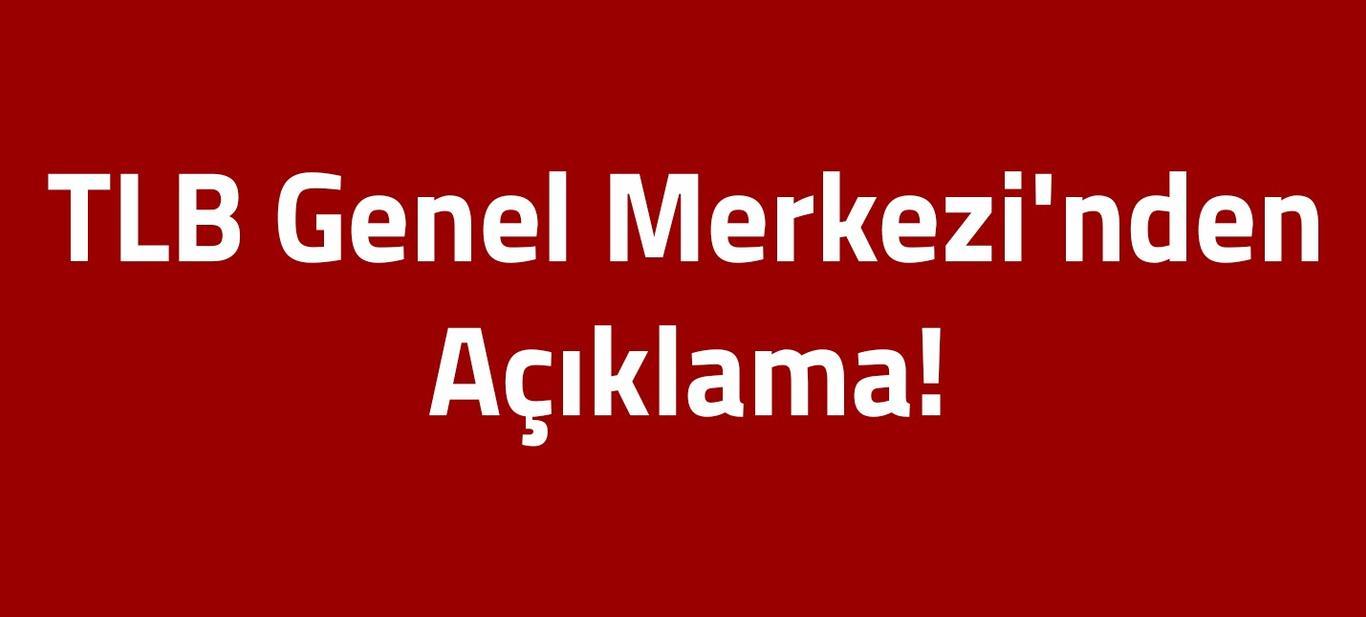 TLB Genel Merkezi'nden açıklama: Adana Valiliği suç işliyor!