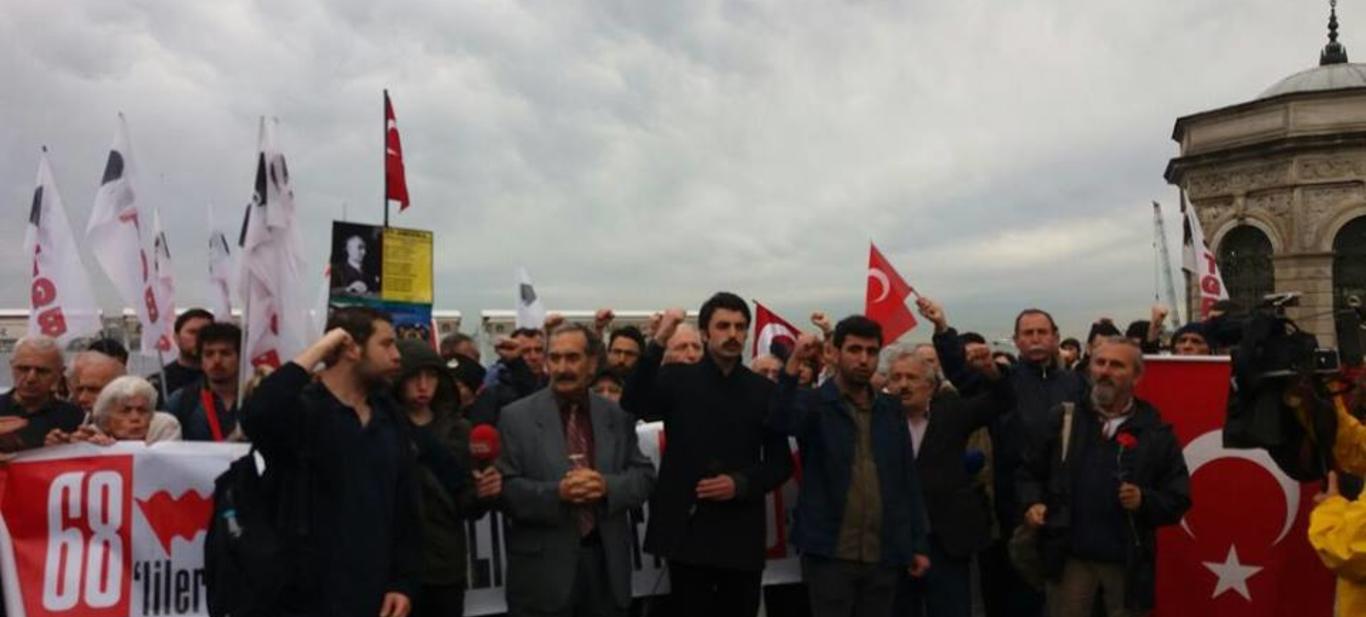 TLB İstanbul Üç Fidan'ı Dolmabahçe'de andı