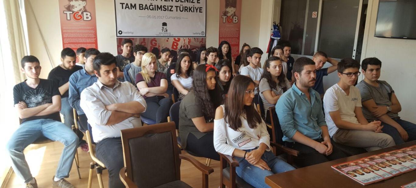TLB İzmir, 68 Gençlik Önderi Kamil Dede ile bir araya geldi