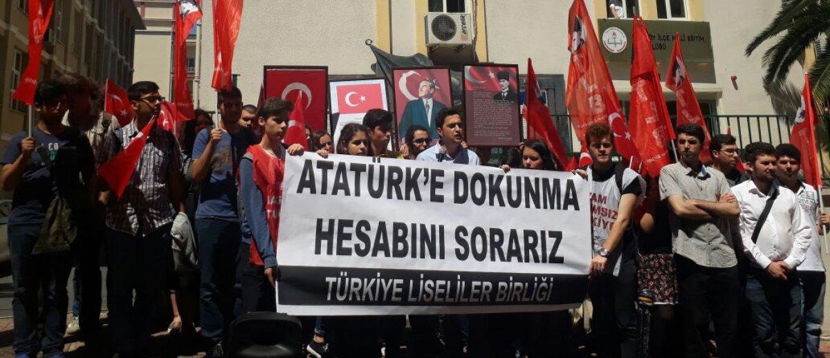 ATATÜRKSÜZ EĞİTİM MİLLİ DEĞİLDİR!