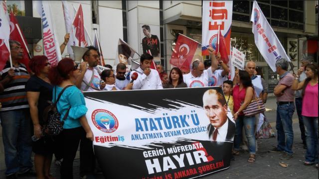 TLB Ankara'dan Gayri Milli Eğitime Tepki!