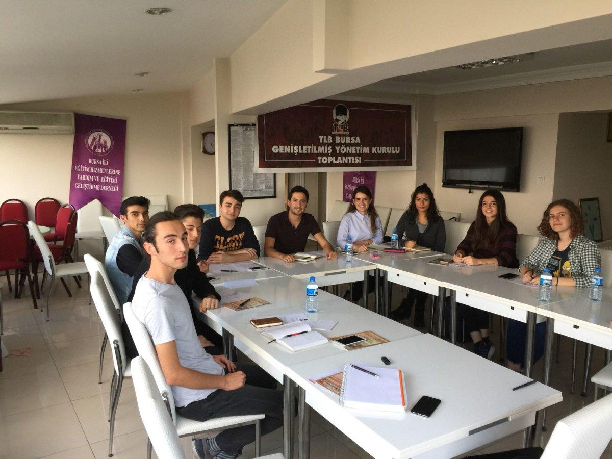 TLB Bursa'da Bayrak Değişimi