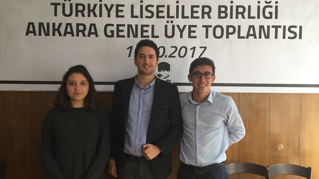 TLB Ankara'da Bayrak Değişimi!