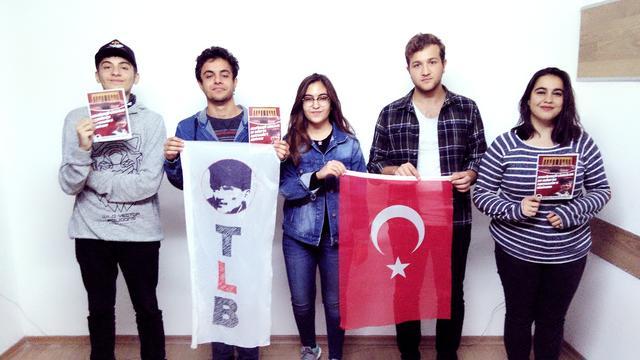 TLB Konya'da Bayrak Değişimi