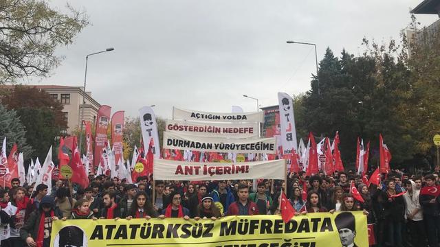 Atatürksüz Müfredata Geçit Vermeyeceğiz!