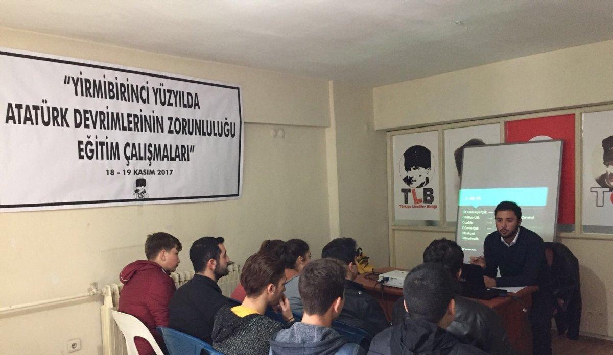 """TLB Menteşe'den """"21.YY'da Atatürk Devrimlerinin Zorunluluğu Eğitimi"""""""