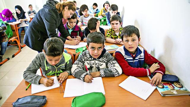 Milli Eğitim Bakanlığı Suriye'de 152bin Çocuğu Okul Sıralarıyla Buluşturdu
