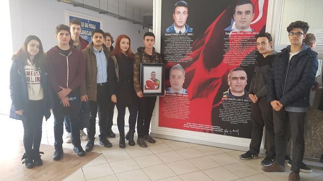 TLB İzmir, Fethi Sekin'in Arkadaşlarını Ziyaret Etti