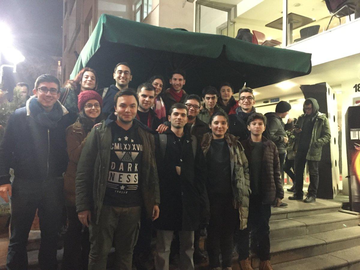 TLB Ankara Kültür-Sanat Bürosu sinema etkinliğinde buluştu