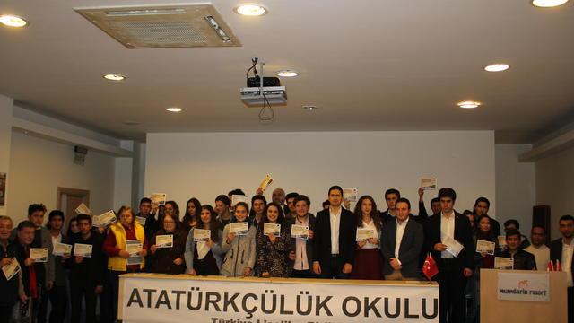 Atatürkçülük Okulları Bodrum'da başladı!