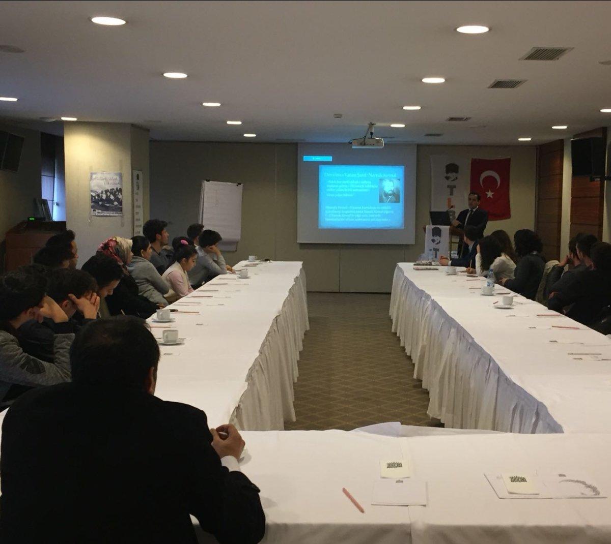 TLB Gaziantep Atatürkçülük Okulu gerçekleşti