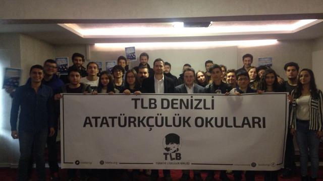 Denizli'nin vatansever liselileri Atatürkçülük Okulları'nda buluştu