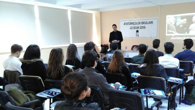 TLB Konya Atatürkçülük Okulundan Afrin'deki Mehmetçiğe Selam Yolladı!