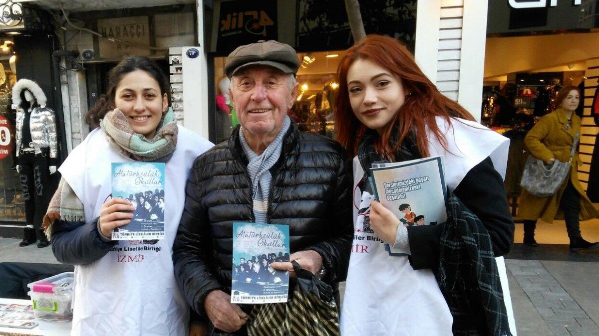 İzmirli Liseliler Atatürkçülük Okulu'nda Buluşacak