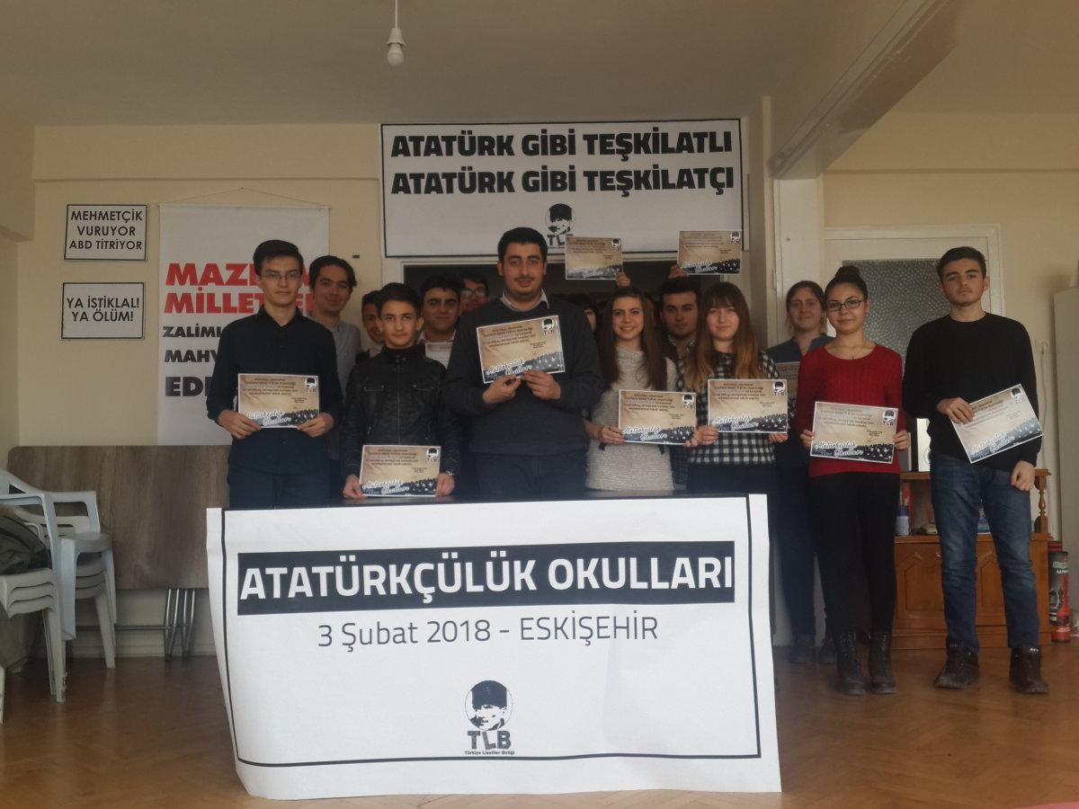 Atatürkçülük Okulları Eskişehir'de