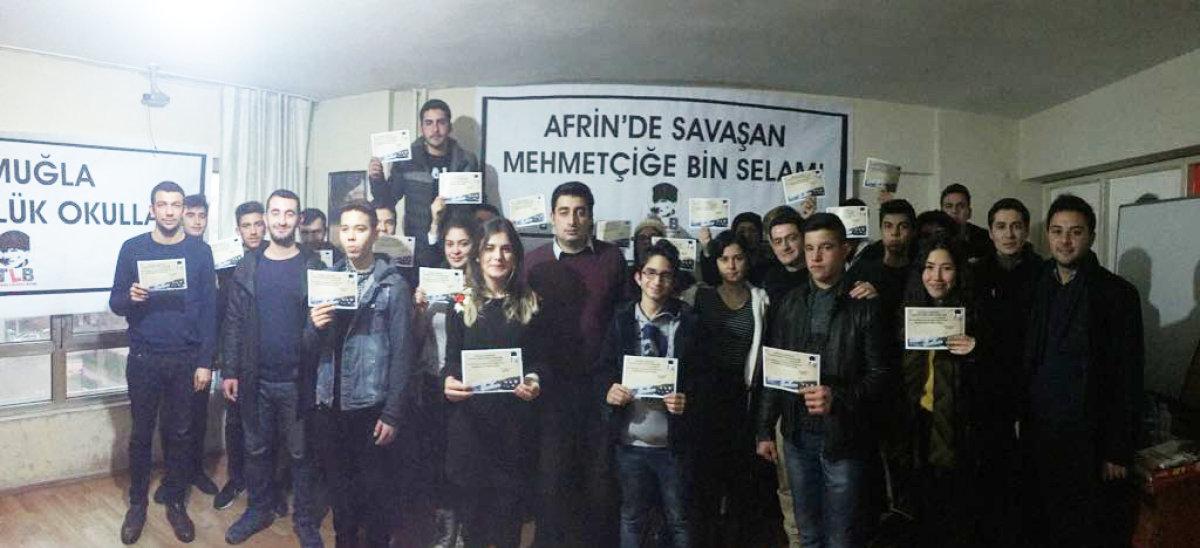 """TLB Muğla """"Atatürkçülük Okulları""""nı gerçekleştirdi!"""