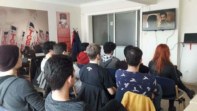 TLB İzmir Dangal'ı izledi