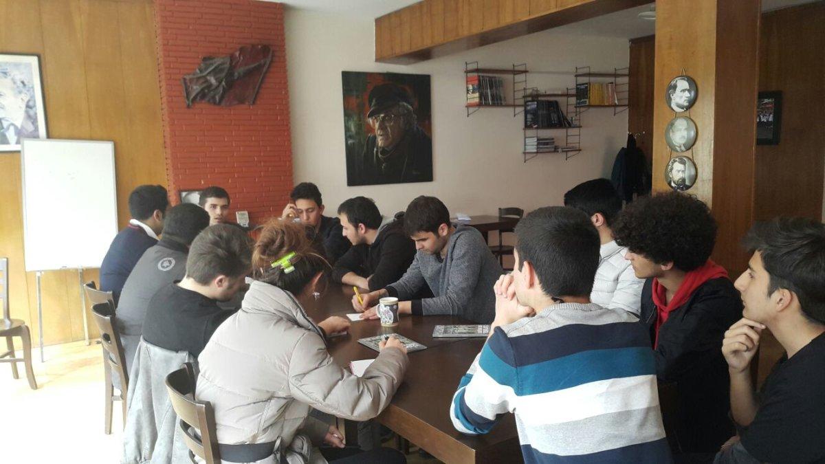 TLB Ankara Kültür Sanat Bürosu toplantısı gerçekleşti