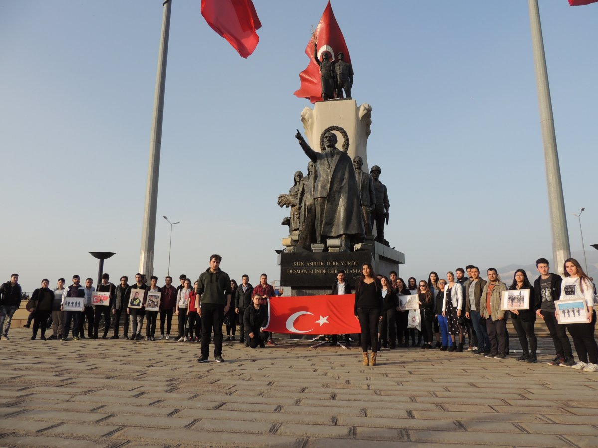 TLB İskenderun sınırdan Mehmetçiğe destek oldu