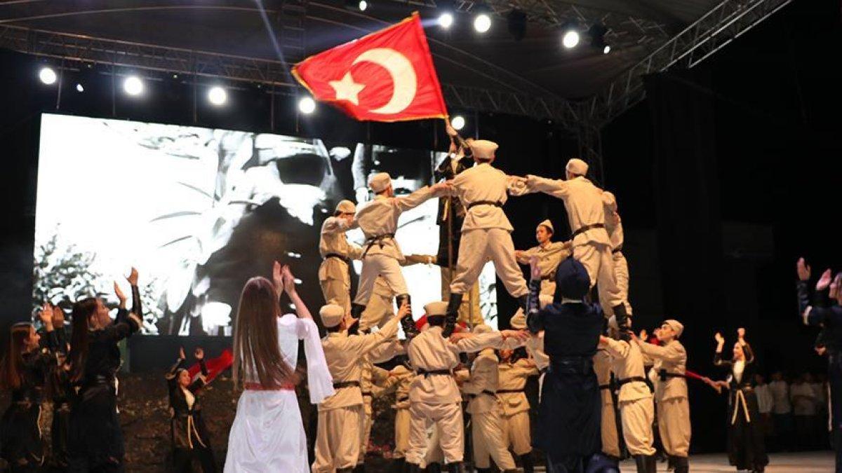 Anadolu'nun Dirilişi Dumlupınar Müzikali sahnelendi
