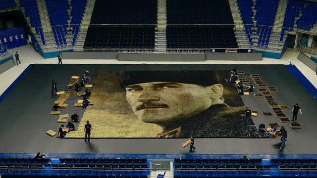 Fenerbahçe'den 19 Mayıs'a özel Atatürk portresi