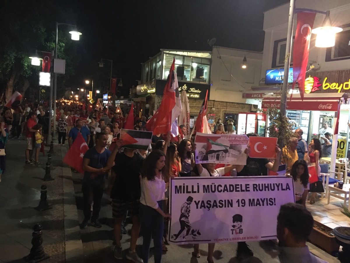 TLB Bodrum 19 Mayıs'ta alanlardaydı