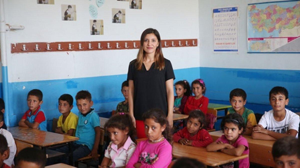 Urfa dağlarının Ceylan öğretmeni