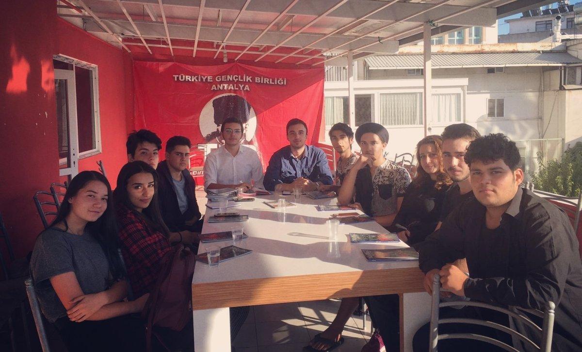 TLB Antalya'da Yeni Yönetim Görevlere Hazır