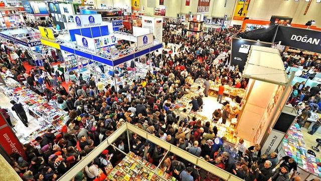 37. Uluslararası İstanbul Kitap Fuarı 10 Kasım'da Başlıyor