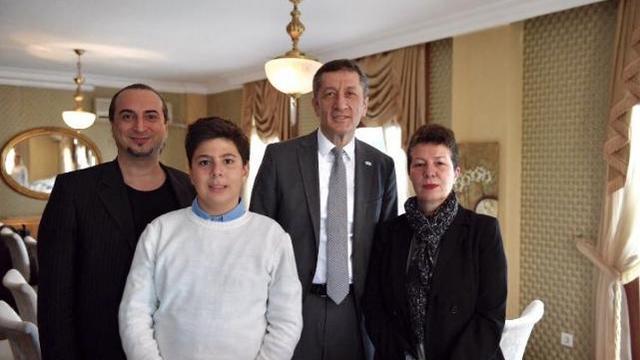 Ziya Selçuk, Ozan Barış Şanlısoy ile buluştu