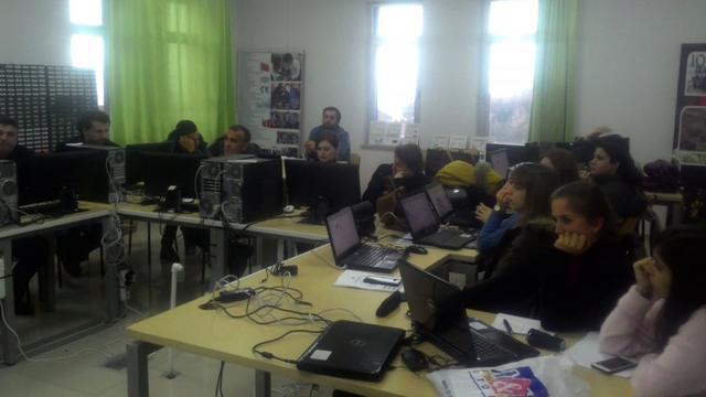 Kozlu'da Öğretmenler Robotik Kodlama Öğreniyor