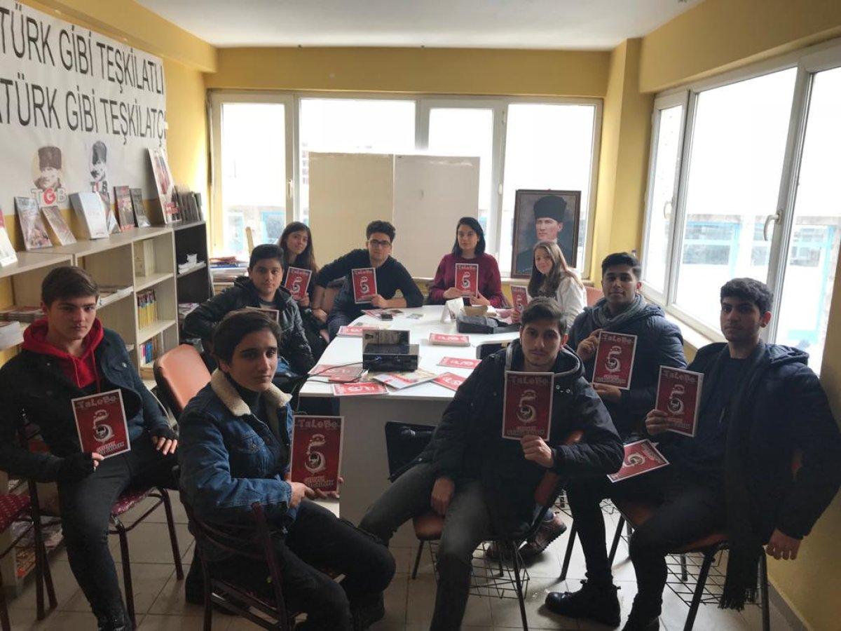 Edirne'de Liseliler TaLeBe Okuyor
