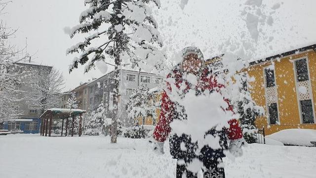 37 İlde Kar Tatili!