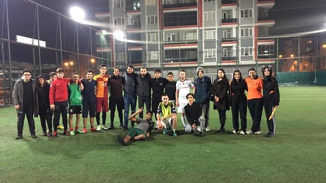 TGB-TLB Edirne Futbol Maçında Kazanan Dostluk Oldu