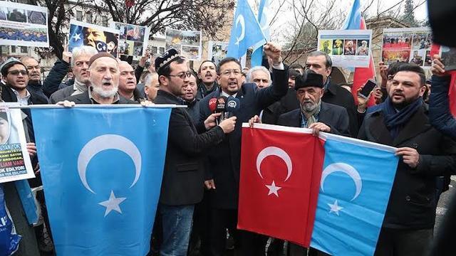Televizyonda, Meydanda, Mecliste Uygur Kışkırtması