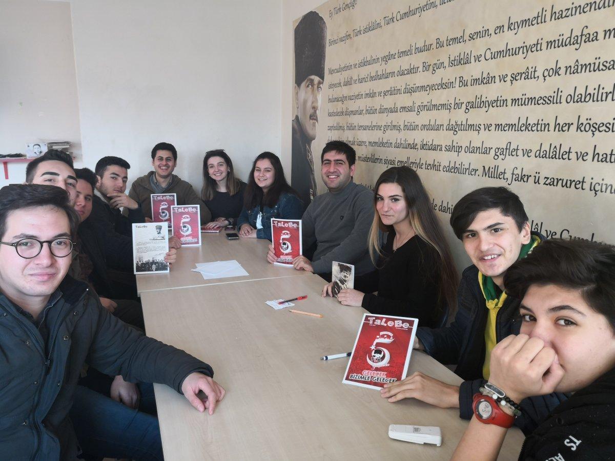 İzmir'de Liseliler 100. Yıl Söyleşisine Hazırlanıyor