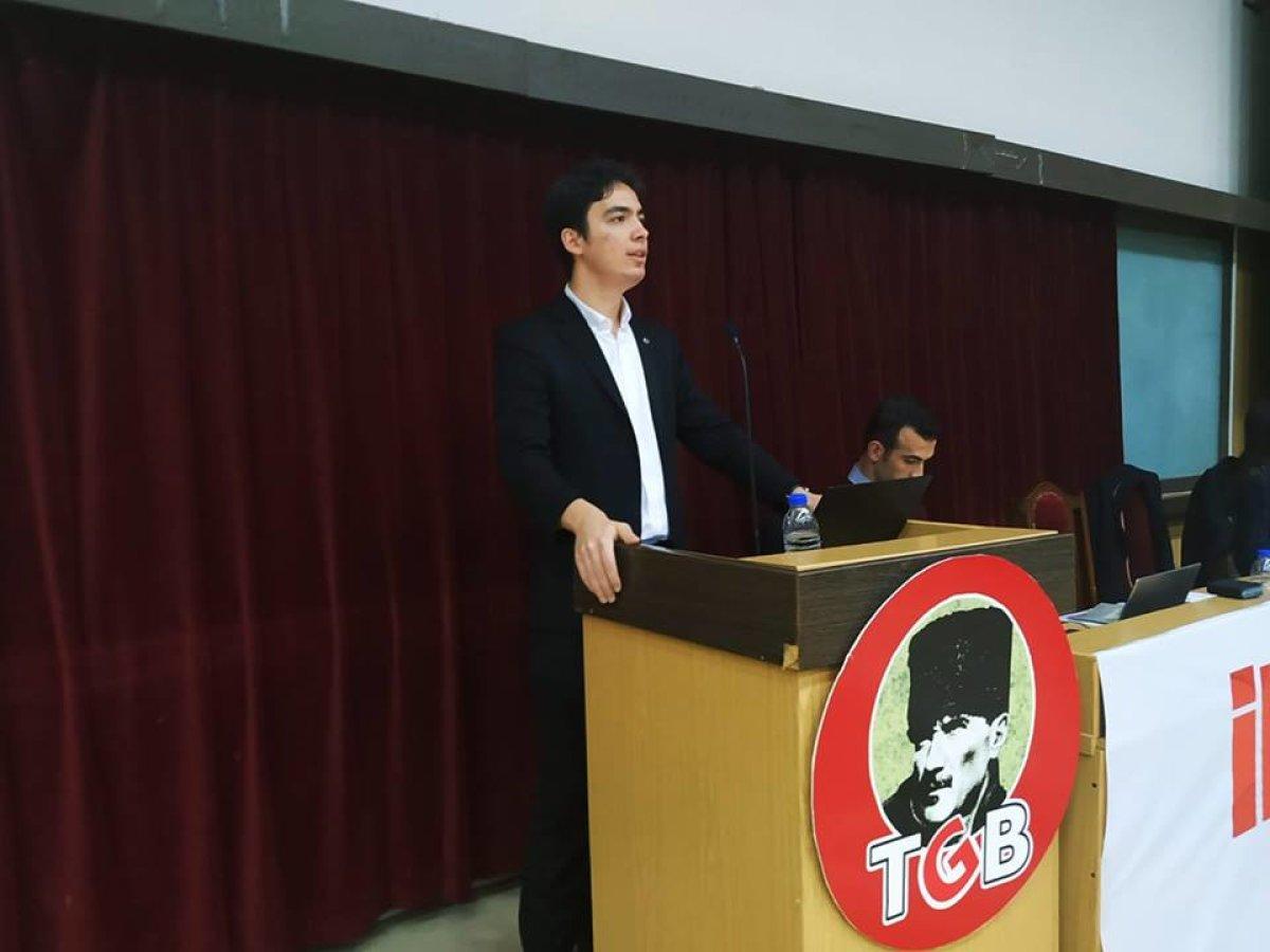 Genel Sekreterimiz Furkan Kaplan