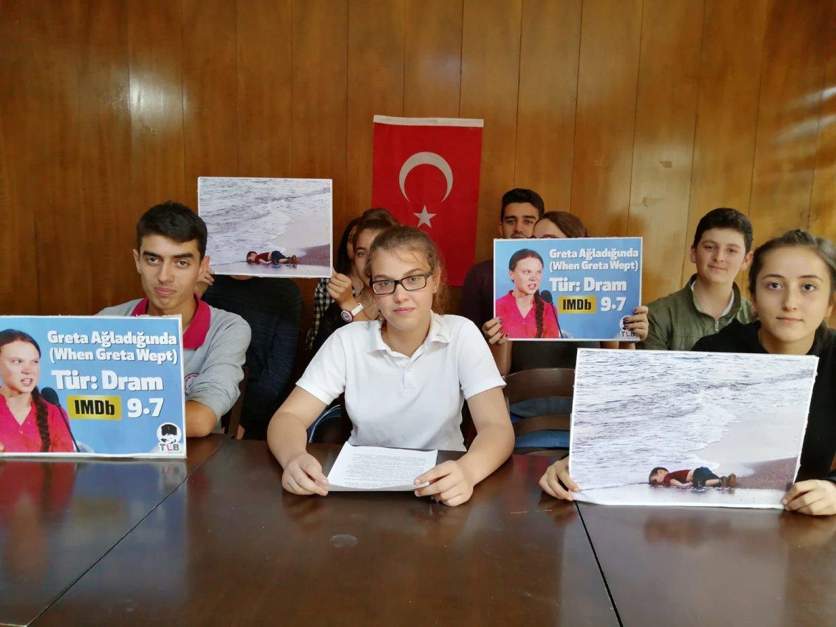 Response from Turkish Youth to Greta Thunberg's Speech