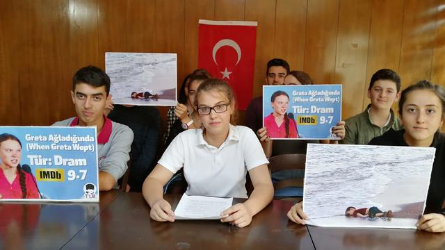 Response from Turkish Youth to Greta Thunberg's Speech