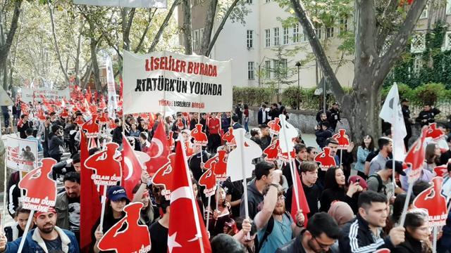 Liseliler 10 Kasım'da Atatürk'ün Yolunda