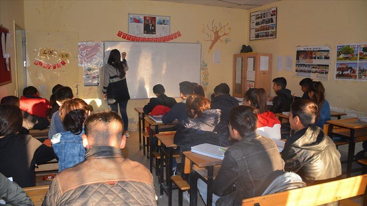 Terör Mağduru Öğrencilerin Telafi Eğitimi Başladı