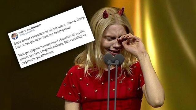 TLB'den Aleyna Tilki'ye Verilen Ödüle Tepki!