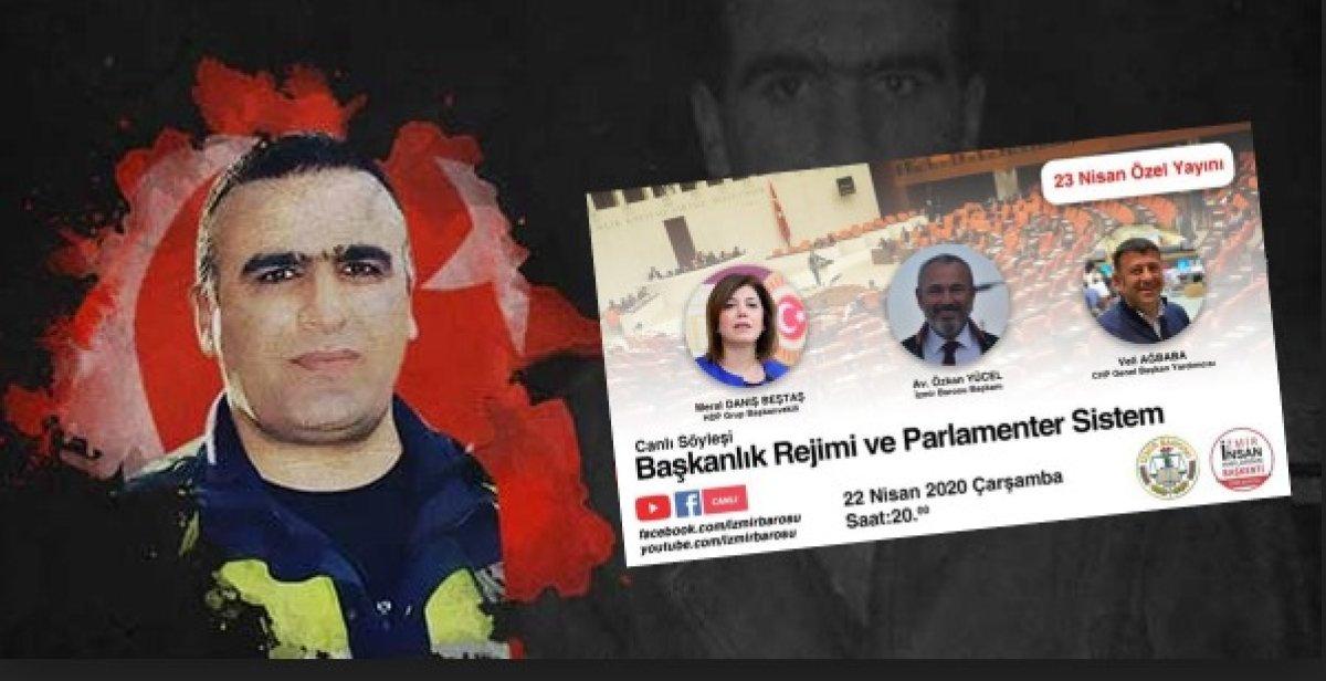 Fethi Sekinlerin İzmir'inde Bu Nasıl Baro?