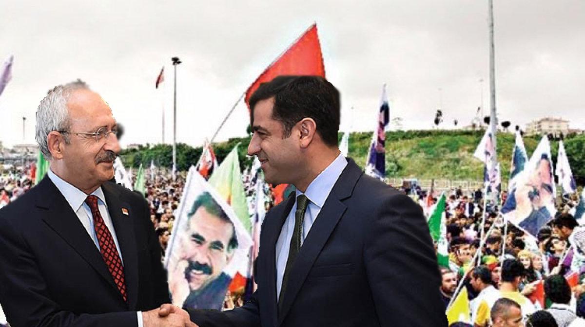 CHP, HDP'ye kol kanat olmaya devam ediyor!